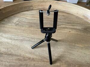 Mini phone camera tripod - aluminium phone camera tripod stand + remote control