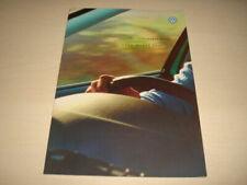 Volkswagen Bora Car Brochures