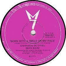 "Stephanie De Sykes ""Born With A Smile On My Face"" Excellent Oz 7"""