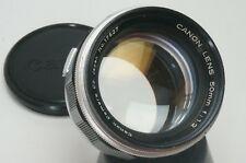 No reserve Canon Rangefinder 50mm F 1.2 Leica Screw Mount LTM M39