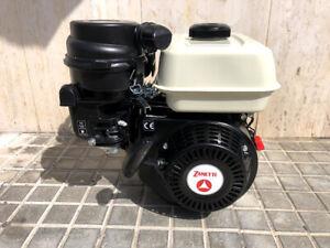 Motore a scoppio Zanetti 4t 6,8 hp albero conico Lombardini per motocoltivatore