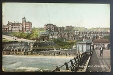 Edwardian Wrench Series Postcard c.1908 Boscombe Pier Looking West