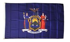 New York State Flag 3 x 5 Foot Flag - New 3x5 Indoor Or Outdoor -