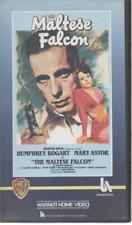 THE MALTESE FALCON HUMPHREY BOGART MARY ASTOR BLACK & WHITE VHS VIDEO