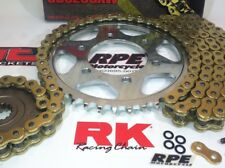 2006-2007 Honda CBR1000RR RK GXW Gold 520 Chain and Sprocket Kit