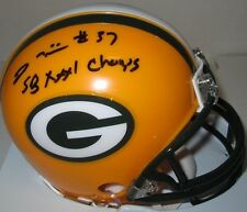 Packers TYRONE WILLIAMS Signed Riddell Mini Helmet AUTO  w/ SB XXXI CHAMPS