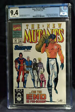 New Mutants 99   CGC 9.4 NM  WHITE PAGES  NEW CASE