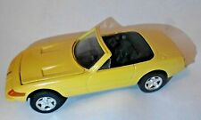 Ferrari 1959 365 GTS4  yellow LOOSE Kyosho 1:38 scale die-cast rubber tires