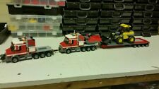 LEGO CITY-CUSTOM HEAVY HAULER x2-WITH EXTENDING TRAILER AND DIGGER   L@@K