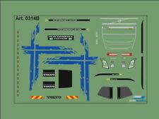H0/1:87 DIS0314B Decals• für Volvo FH4 /Performence Edition/blau