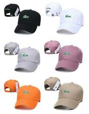 Unisex Lacoste's Cap With Fine Embroidery Logo Adjustable Hat New