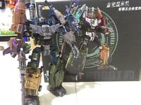 Jinbao K.O. OVERSIZED Warbotron Bruticus Robot Decepticons toy COOL New In Box
