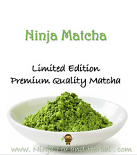 Matcha Matcha Organic Pure Super Healthy Powder 100g FREE Straw Limited Edition