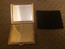 Christian Dior Gold plated Ladies compact/mirror case very good cond Make up