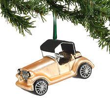4048516 Roadster Car Glass Ornament Retro Christmas Dept 56 Deco Roaring 1920's