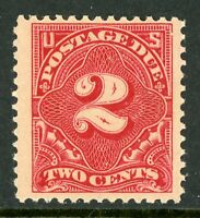 USA 1910 ⭐ 2¢ Postage Due⭐Scott # J46 ⭐ Mint Non Hinged ⭐Free Shipping⭐B507⭐☀⭐☀⭐