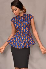 Brand new very beautiful african print blouse sizes UK 12, 14 & 16