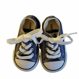 Converse All Star Toddler/Infant Shoes Size 6 Black