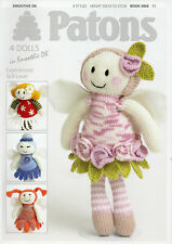 PATONS SMOOTHIE DK DOLLS 3806 PATTERN BOOK