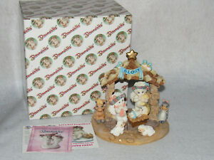 Away In A Manger 1998 Cast Art Dreamsicles Christmas Figure 10430 - MIB