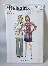 Butterick sewing Pattern 6528 Size 8 UNCUT Misses Jacket