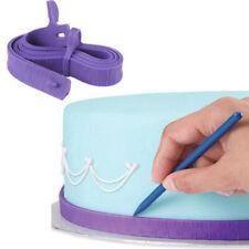 Fondant Silicone Cake Measuring Tape Craft Cake Dividing Ruler Decorating Tools~