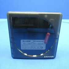 Dickson SL4350 Temperature Recorder -22 to 122F -  Tested and Calibrated