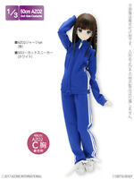 Azone AZO2 Outfits Jersey Set Blue fit Obitsu 48/50cm body