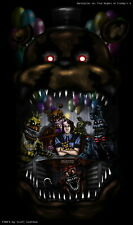 61187 Markiplier Five Night's at Freddy's 4 Wall Print POSTER UK