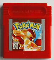 Pokemon Red Version Can Save Nintendo GBC Game Boy RED Color FREE SHIPPING