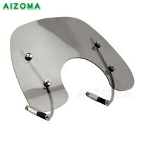 Smoke Wind Screen Deflector Windshield Windscreen Flyscreen For Vespa LX150 LX50