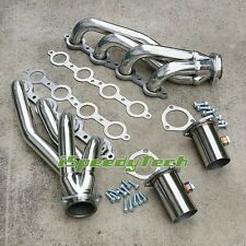 Chevy LSX LS2 LS3 LS6 V8 Shorty Chevelle Camaro Stainless Steel Exhaust Headers