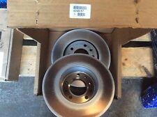 Genuine pair Peugeot Expert 3 Citroen Dispatch 1.6HDI front brake discs 424987