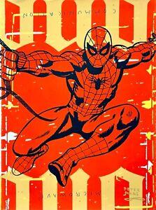 Peter Mars Art Spiderman Spidey NYC Superheroes MCM Cartoons Comic Books TV