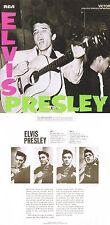 "Elvis Presley ""Elvis Presley"" 1. Werk, von 1956! Mit sechs Bonustracks! Neue CD!"