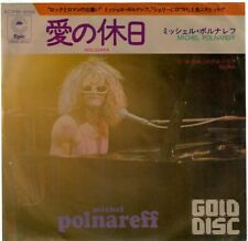 MICHEL POLNAREFF Holidays Gloria 1972 SP Epic Pressage Japonais