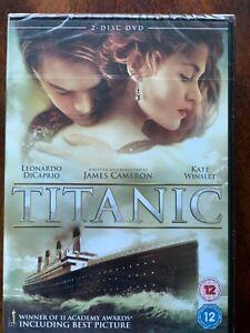 Titanic DVD 1997 Disaster Movie Classic w/ Leonardo DiCaprio 2-Discs BNIB