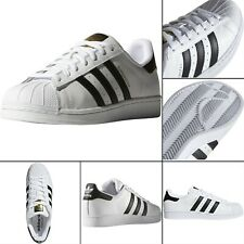 adidas Originals Men's Superstar Foundation Sneaker, White/Core Black C77124