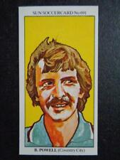 The Sun Soccercards 1978-79 - Barry Powell - Coventry City #691