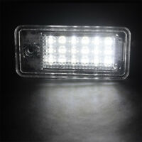 LED License Number Plate Light No Error For Audi A3 8P RS3 A4 S4 A6 S6 4F A8 Q7