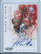 2012-13 Panini Contenders Basketball Autograph Maalik Wayns