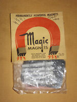 VINTAGE MAGIC MAGNETS NOS NEW OLD STOCK
