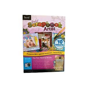 Serif Digital Scrapbook Artist for Windows XP/Vista/7/8/8.1/10 NEW