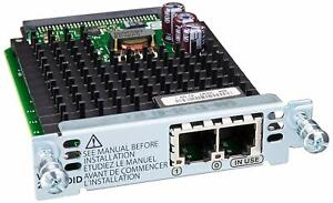Cisco VIC3-2FXS/DID 2PORT VOICE INTERFACE CARD FXS & DID NEW  FREE SHIP