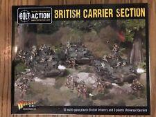 Bolt Action: British Carrier Section Plastic Box Set