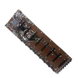 1Pcs BTC B85 1150 Pin Motherboard 4 USB3.0 LAN Mainboard für BTC Mining