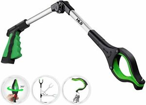 ORFELD® Heavy Duty Grabber Tool Pick Up Stick Hand Grip Reach Trash Reacher US