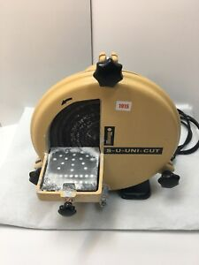 Schuler S-U-UNI-CUT Gipstrimmer + Poliermotor   Trimmer Dental  Labor GEPRÜ