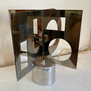 Motorized Kinetic Sculpture Stainless Steel By Nicholas Schoffer 1968 France