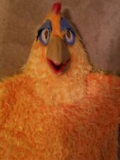 adult chicken costume mask body feet gloves tights